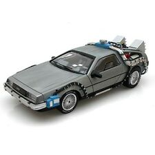 Back to the Future DeLorean Time Machine Hot Wheels Elite 1:43 Rare Edition