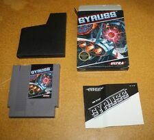 NINTENDO NES GYRUSS COMPLETE INCLUDING BOX FREE SHIPPING