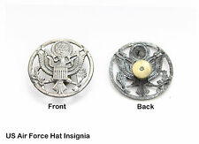 1 Original Vintage USAF Air Force Dress Hat Eagle Badge, Insignia Device, 1950s