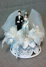 ~Wedding~Silver~25th Anniversary~Cake Topper~Vintage Wilton~Hong Kong~