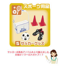 Re-ment dollhouse miniature soccer football sneakers