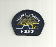 FEDERAL HEIGHTS COLORADO POLICE PATCH
