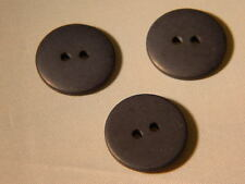 25 NEW 1 INCH DULL FINISH DARK  NAVY BLUE BUTTONS