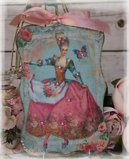 "NEW! ""Marie Antoinette"" Vintage~Shabby Chic~Country style~Wall Decor Sign"