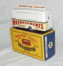 Rare CREAM MOKO.1960s.Matchbox Lesney.74,GPW.Refreshments.Canteen.almMint in BOX
