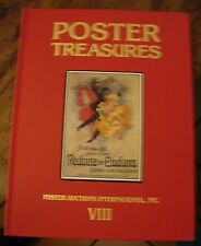 Poster Treasures 1989 Poster Auctions International VIII  Jules Cheret Pianos +