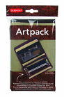 Derwent Artpack - Canvas Pencil & Drawing Accessories Case with Compartments