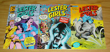 Lester Girls: the Lizard's Trail #1-3 VF- complete series - trouble with girls