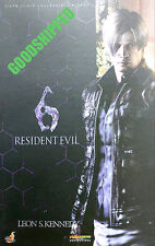 READY HOT TOYS BIO HAZARD RESIDENT EVIL 6 LEON S. KENNEDY 20TH ANNI. AUTHENTIC