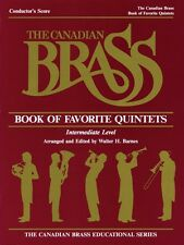 The Canadian Brass Book of Favorite Quintets Conductor Brass Ensemble  050488971