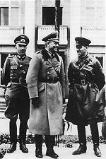 WW2 - Pologne - Le Général GUDERIAN et un général russe à Brest-Livosk 23/09/39