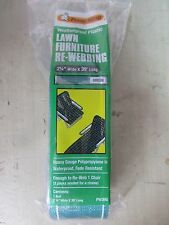 """Frost King Lawn Chair Webbing  GREEN  #PW39G  2.25"""" Wide  Fade Resistant   NEW"""