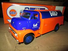 1953 Ford COE C600 GULF Truck 1:30 ERTL  VINTAGE DELIVERY  FUEL oil tanker