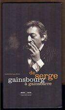 SERGE GAINSBOURG RARE COFFRET 3 CD PROMO 6230 INTERDIT A LA VENTE 1958 / 1989