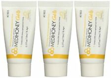 3 Pack -MEDIHONEY Gel WOUND & BURN DRESSING #31805 0.5 oz Tube Derma Sciences