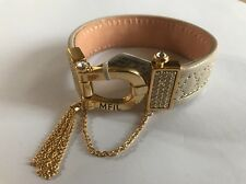 NWT $74 Brighton My Flat in London Canterbury Leather Cuff Bracelet
