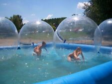Inflatable Walk on Water Ball Water Walking Ball, Zorb Ball,2m PVC Tizip Zipper