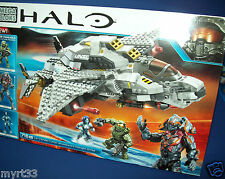 MEGA BLOKS HALO - 97380 CXK90 UNSC Broadsword Midnight Strike 716pcs NEW