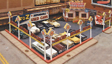 """HO Scale: """"A-to-Z USED CAR LOT"""" - Kit #197 by Blair Line"""