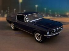 1967 67 FORD MUSTANG FASTBACK 1/64 SCALE DIECAST MODEL COLLECTIBLE - DIORAMA