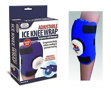 Knee Ice Bag Wrap Adjustable Removable Ice Pack North American Healthcare