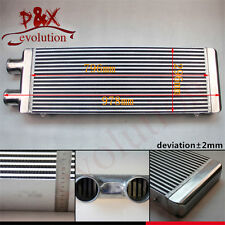 FMIC 3'' Inlet & Outlet 1 Side Alloy Intercooler for Celica MR2 RX7 Eclipse Neon