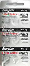 15 pcs 377 / 376 Energizer Watch Batteries SR626SW SR626 0%Hg
