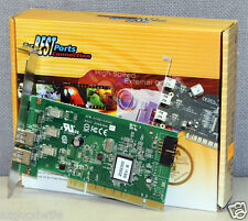 Adaptec Syba AFW-2100/4300C IEEE-1394 Firewire 2-Port Card SD-PCI-4F New