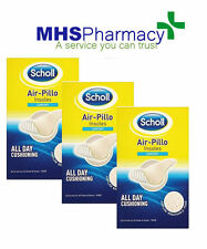 3 x Scholl Air Pillo Comfort Shoe Insoles Cut to Size