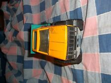 Tonka Wild Rodeo Yellow Green Truck Metal Plastic  8 1/4 Inch Long Played With