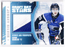 Nathan Beaulieu 2010-11 ITG Heroes Prospects Draft Day Stars Silver Jersey /19