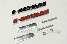1Pcs Brand New Black HEMI Car Front Body Grill Grilles Alloy Metal Badge Emblem