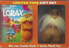 DR. SEUSS The Lorax BLU-RAY Combo with Kids Toy Taylor Swift Zac Efron NEW DVD