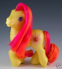 My Little Pony G3 Sunshimmer Mail Order Ponies Yellow MLP