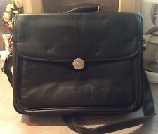 Vintage Dell Soft Padded Briefcase / Attache Case / Computer / Laptop Bag