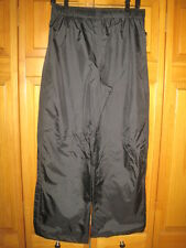 Pacific Trail HydroVent waterproof rain pants kids boys L black camping fishing