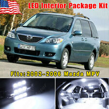 16PCS Super White LED Lights Interior Package Combo For 2002-2006 Mazda MPV