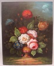"""Oil Painting - 10"""" x 8"""" - Floral Still Life Scene - Hand Painted"""