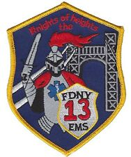FDNY EMS 13 Fire Department New York patch