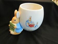 Beatrix Potter Peter Rabbit Planter Teleflora Frederick Warne 2008 Cache Pot