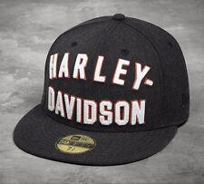 Harley-Davidson basecap new era 59 fifty cap 7 3/8 Inch * 99461-17vm/000 L * 58,7cm