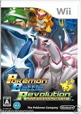 Used Wii Pokemon Battle Revolution Nintendo JAPAN JP JAPANESE JAPONAIS IMPORT