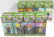 BANPRESTO One Piece World Collectable Figure WCF 25 (HK),set of 8 *FREE SHIPPING