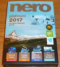 Nero 2017 Platinum PC NEW!