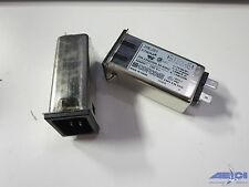 CORCOM 20EJS1 FILTER EMI W/IEC CONN 20A TAB* A/S (LOT OF 2)