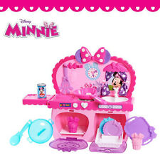 Minnie Mouse Kitchen Play Set Mother's Mom Cook Role Kit Kids Child Girls Gift