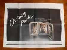 Ordinary People ~ Original Quad Poster 1980 ~ Donald Sutherland/Mary Tyler Moore