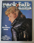 - ROCK & FOLK Music French Magazine #148 JOHNNY HALLYDAY cover 1979 -