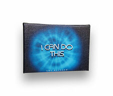 "I Can Do This, Inspirational Positive QuoteArtwork Canvas on Wooden Frame, 5""x7'"