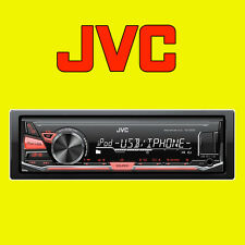 Jvc de medios digitales receptor coche Mp3 Flac Radio Estéreo Aux, Usb Para Ipod Iphone